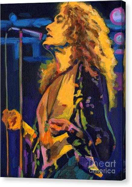 Robert Plant. Kashmir Canvas Print