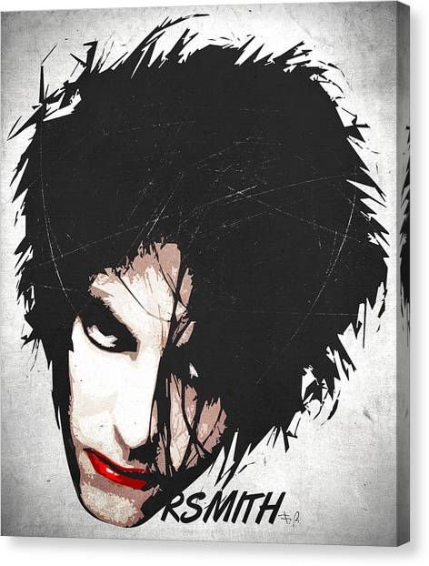 Robert Smith Music Canvas Print - Robert Smith by Filippo B