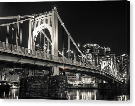 Roberto Clemente Canvas Print - Roberto Clemente Bridge by Kyle Nagle