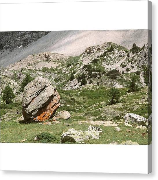 Wilderness Canvas Print - Rock-a-fella  #italy #italia #alps by A Rey