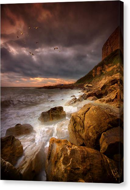 Rock - A - Nore Canvas Print by Mark Leader