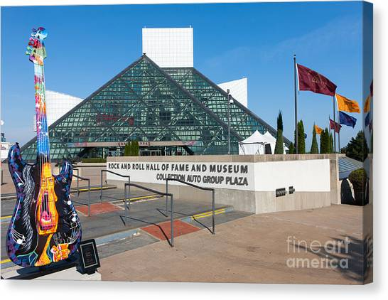 Rock And Roll Hall Of Fame IIi Canvas Print