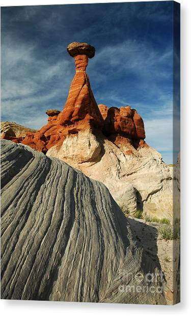 702a Rock Formation Canvas Print