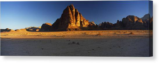 Jordan Canvas Print - Rock Formations On A Landscape, Seven by Panoramic Images
