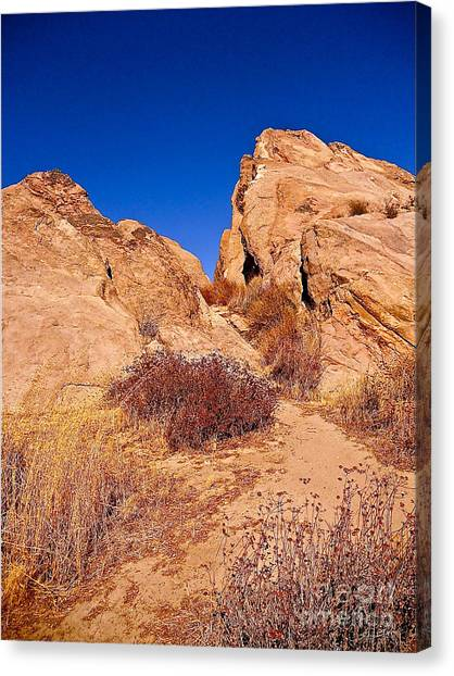 Rock Into The Sky Canvas Print