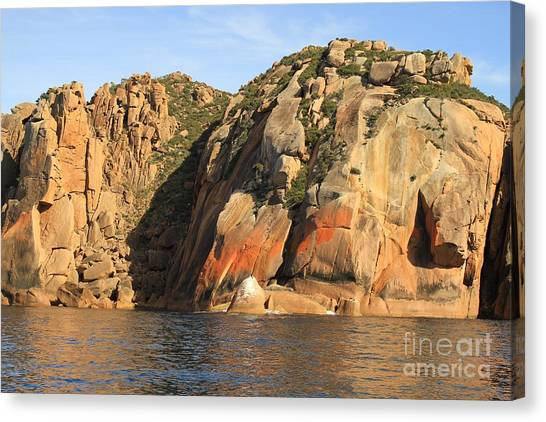 Rock Of Ages All Profits Go To Hospice Of The Calumet Area Canvas Print