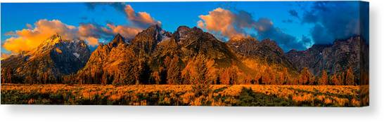 Rock Of Ages Panorama Canvas Print