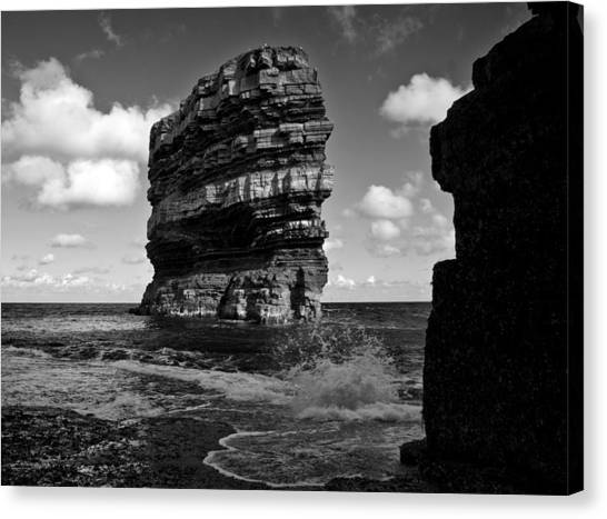 Rock Canvas Print by Tony Reddington