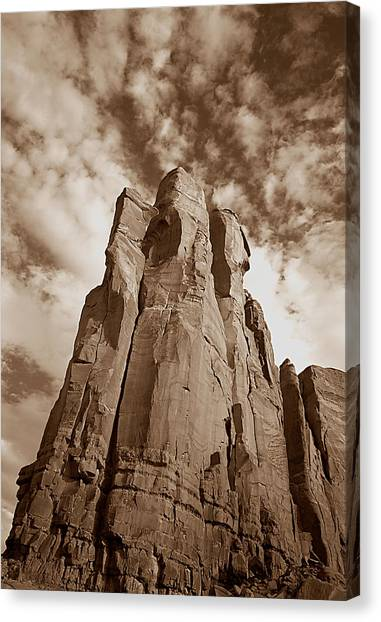 Rock Tower Canvas Print