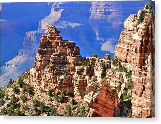 Rock Wall Canvas Print
