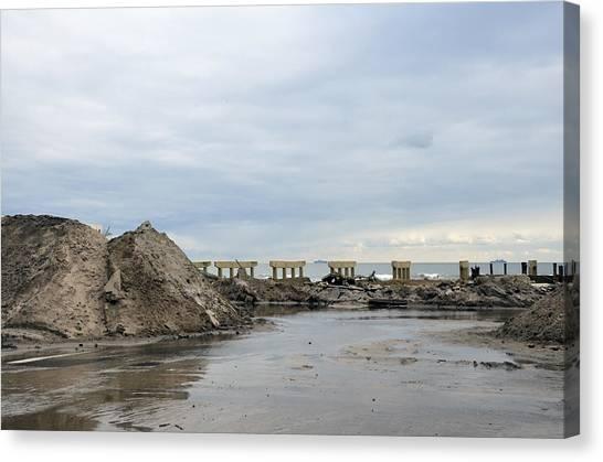 Rockaway Beach After Hurricane Sandy 4 Canvas Print