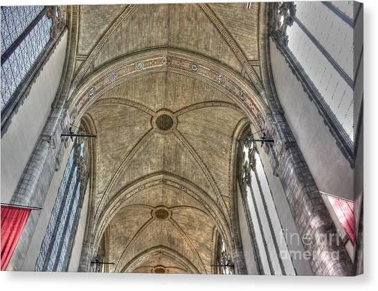 Rockefeller Memorial Chapel Canvas Print by David Bearden