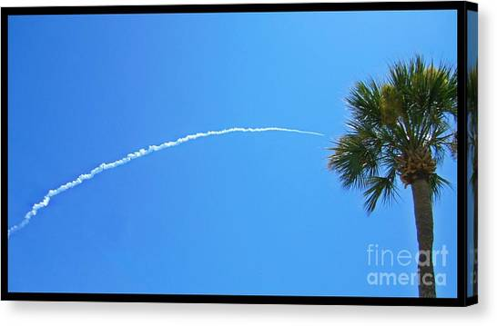 Missles Canvas Print - Rocket Launch by Crystal Loppie