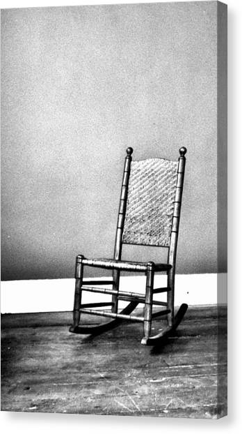 Rocking Chair Canvas Print