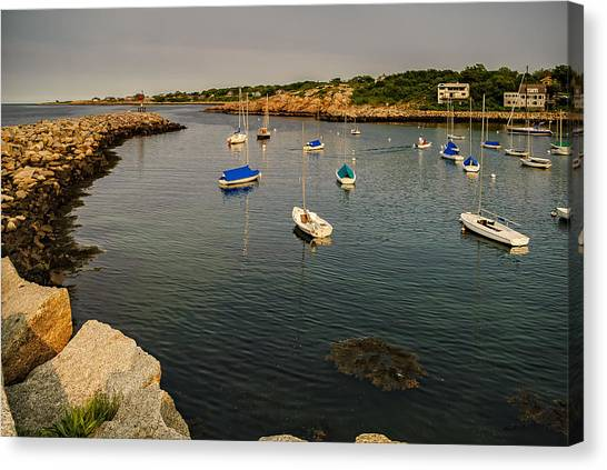 Rockport Gold Canvas Print