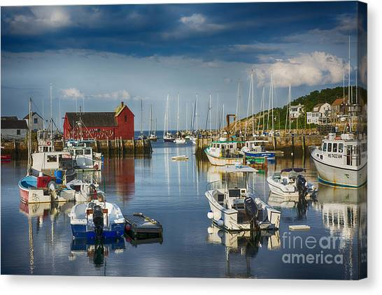 Rockport Harbor Canvas Print