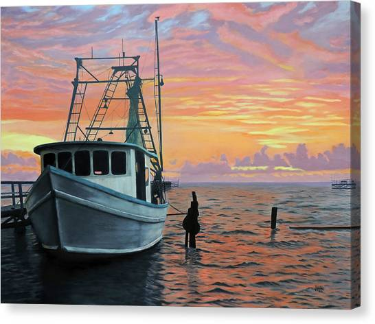 Rockport Sunrise Canvas Print