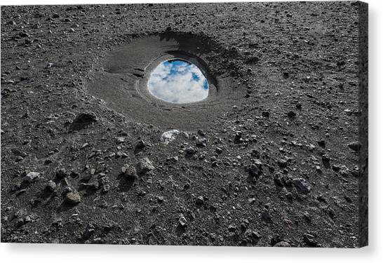 Eyjafjallajokull Canvas Print - Rocks And Black Sands. Landscape Still by Panoramic Images