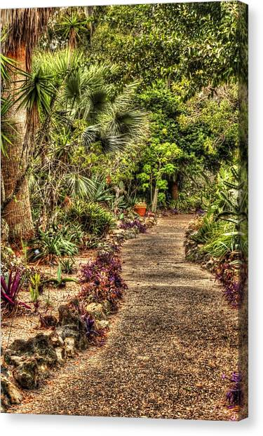 Rocks On Road Canvas Print