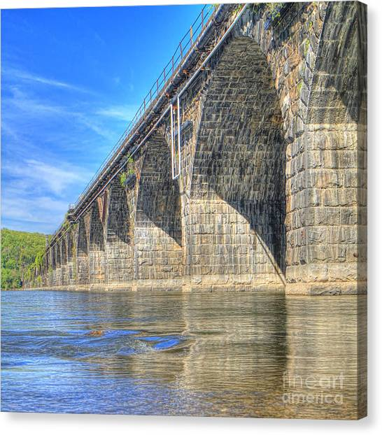 Rockville Bridge Canvas Print