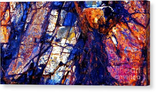 Rocky Color Explosion Canvas Print