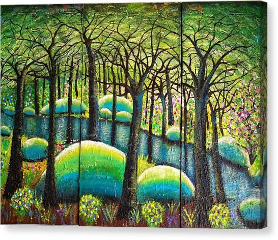 Rocky Creek Canvas Print