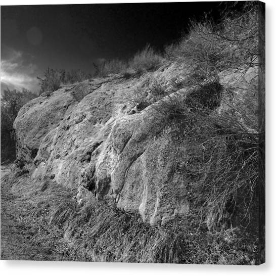 Rocky Face And Sky Canvas Print
