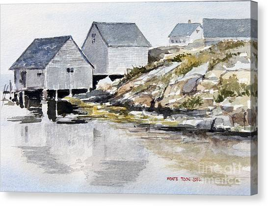 Rocky Inlet Canvas Print
