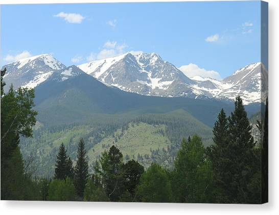 Rocky Mountain National Park - 2 Canvas Print