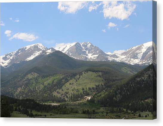 Rocky Mountain National Park - 3  Canvas Print