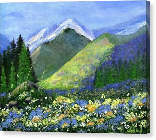 Rocky Mountain Spring Canvas Print