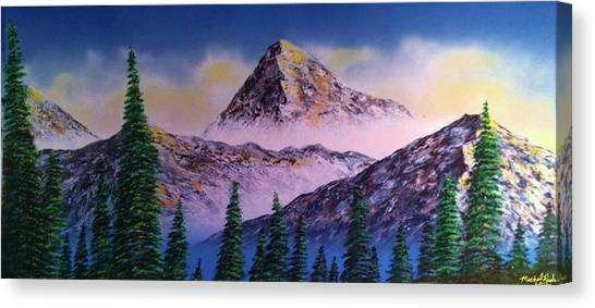 Canvas Print - Rocky Mountains by Michael Rucker