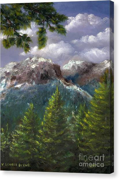 Rocky Mountains National Park Colorado Canvas Print
