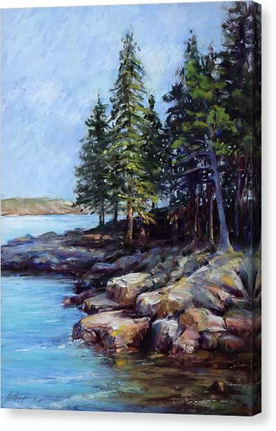 Rocky Point Canvas Print by Beverly Amundson