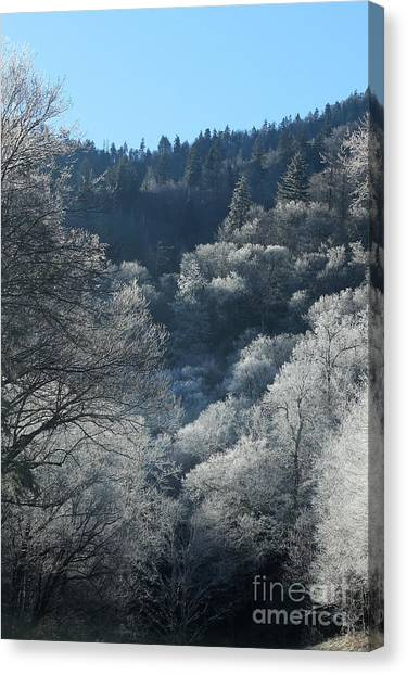 Rocky Top Winter Canvas Print