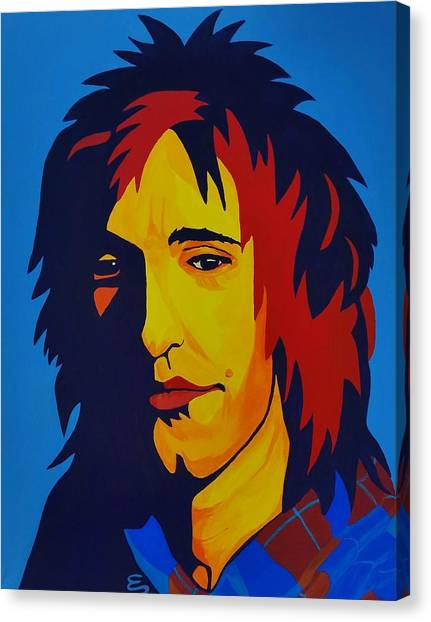 Rod Stewart   Canvas Print