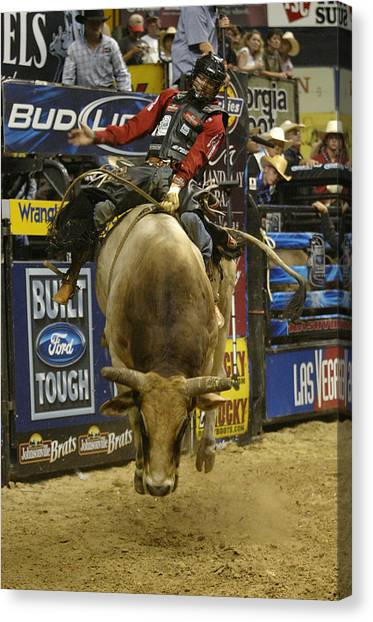 Rodeo Clown Canvas Print - Rodeo 16 by Don Olea