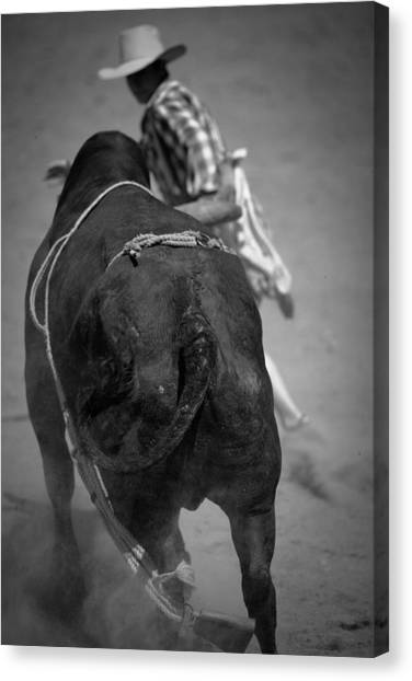 Rodeo Clown Canvas Print - Rodeo Clown by John Magyar Photography