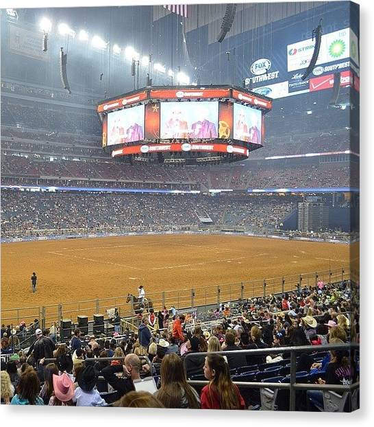 Pepsi Canvas Print - Rodeo Houston 2014 by Photo 2 Instagram