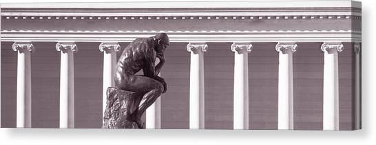 The Legion Canvas Print - Rodin Sculpture, San Francisco by Panoramic Images