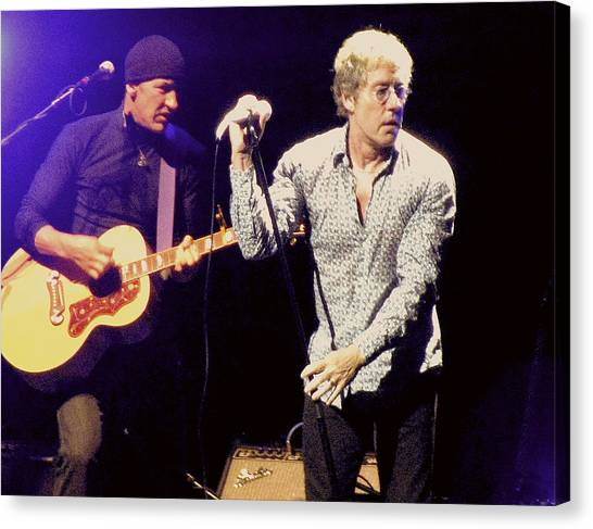 Roger Daltrey And The Who Canvas Print