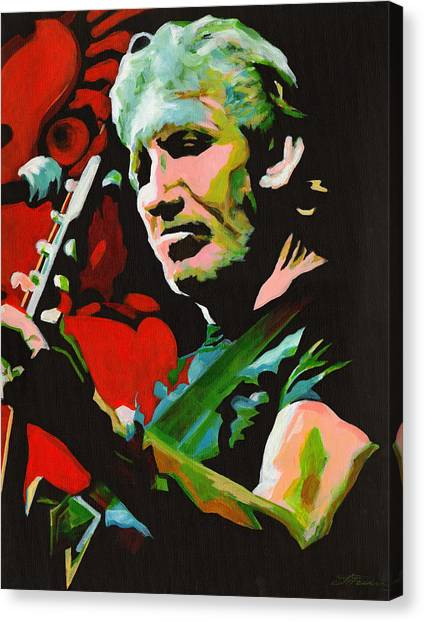 Roger Waters. Breaking The Wall  Canvas Print