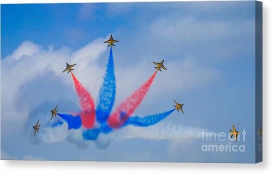 Rokaf Aerobatic Team Canvas Print