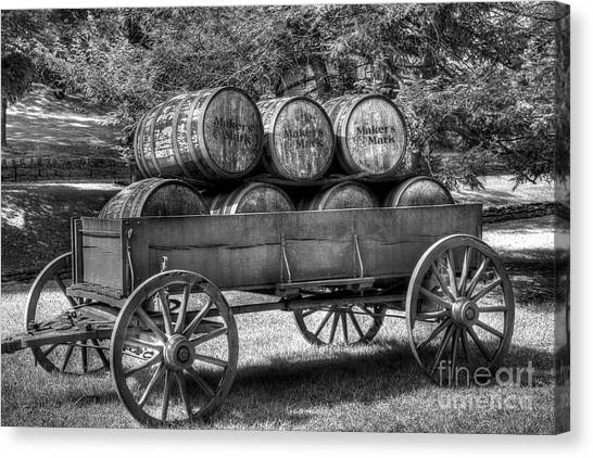 Canvas Print featuring the photograph Roll Out The Barrels by Mel Steinhauer