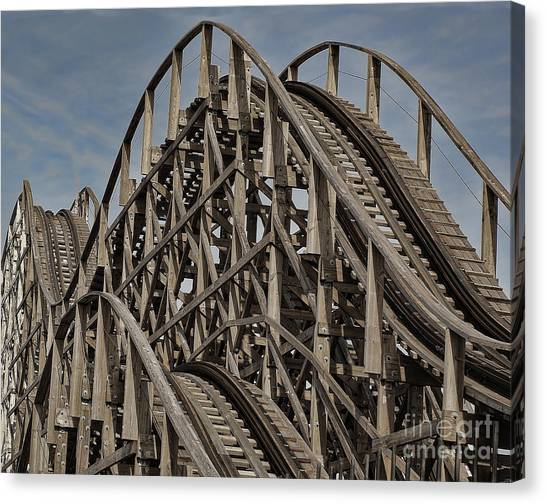 Roller Coaster Canvas Print