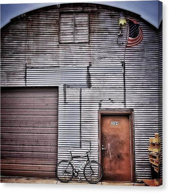 Warehouses Canvas Print - Rollin Around South #minneapolis by Mike S