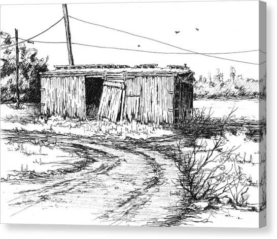 Train Canvas Print - Rollin' On by Sam Sidders