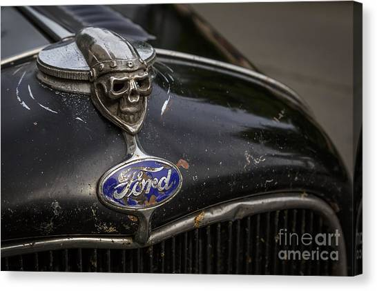 1932 Ford Canvas Print - Rolling Bones by Dennis Hedberg