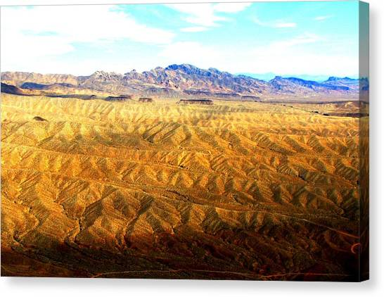 Grand Canyon Canvas Print - Rolling Desert by Ray Dugan