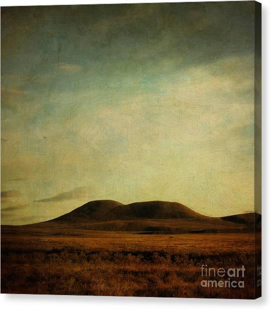 Tundras Canvas Print - Rolling Hills by Priska Wettstein